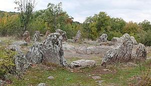 Megalithic cult structure - cromlech, village of Dolen Glavanak