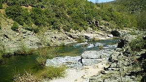 Meanders of Byala Reka River, village of Meden Buk, village of Zhelezari