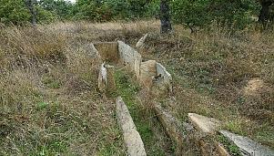 Megalithic tomb (dolmen), village of Plevun