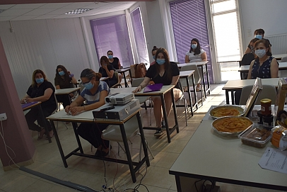 Training on eTOURIST project in Greece